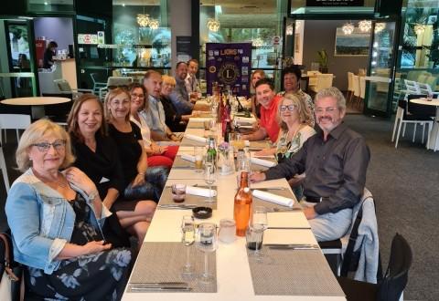 U ugodnoj atmosferi restorana Bianco&Nero u Opatiji, održan je prvi sastanak kluba uz zajedničku večeru