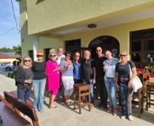 Tradicionalna berba grožđa u vinogradima Pavlomir članova LC Opatija