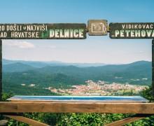 Pogled sa centra Petehovec